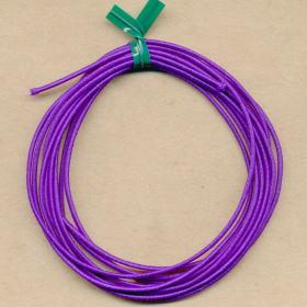 布巻きシリコンゴム 紫