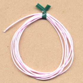 布巻きシリコンゴム ピンク