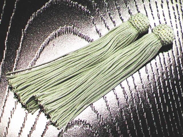 数珠用 頭付き房(正絹)桃