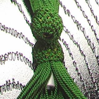 数珠用 頭付き房(正絹)柳 軸穴