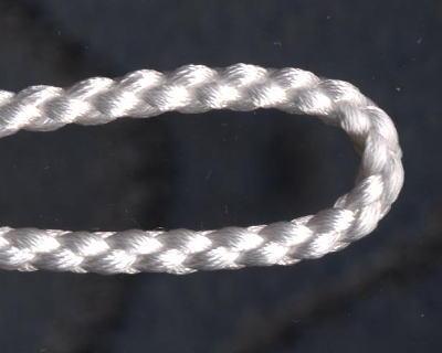 自分で作る数珠(片手念珠)キット 組紐タイプ 白