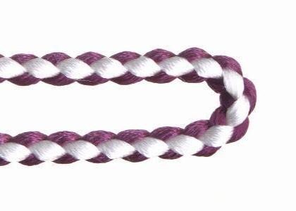 自分で作る数珠(片手念珠)キット 組紐タイプ 古代紫
