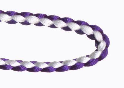 正絹組紐 紫