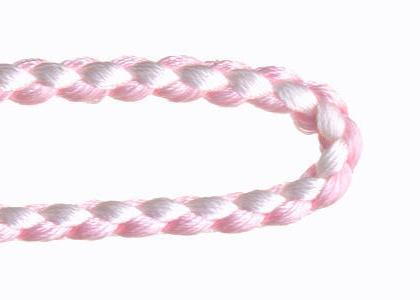 自分で作る数珠(片手念珠)キット 組紐タイプ 桃