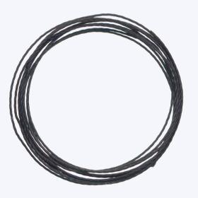 中糸:約0.8mmのナイロン製ビーズ用撚り糸 黒