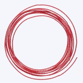 中糸:約0.8mmのナイロン製ビーズ用撚り糸 赤
