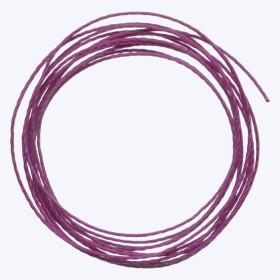 中糸:約0.8mmのナイロン製ビーズ用撚り糸 紫