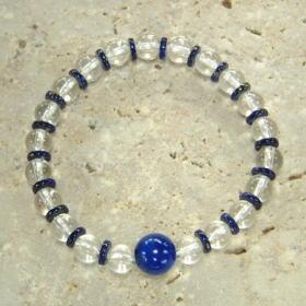 ラピスラズリ−平玉水晶
