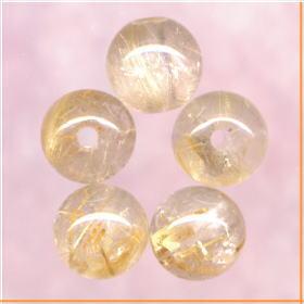 ゴールデンルチル(金針入り水晶)