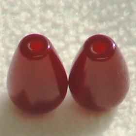 レッドメノウ(瑪瑙)露玉 12mmの穴